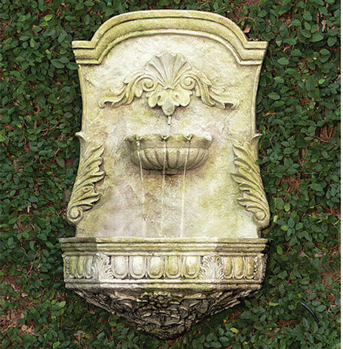 Outdoor Ornate Wall Hanging Water Fountain By Orlandi
