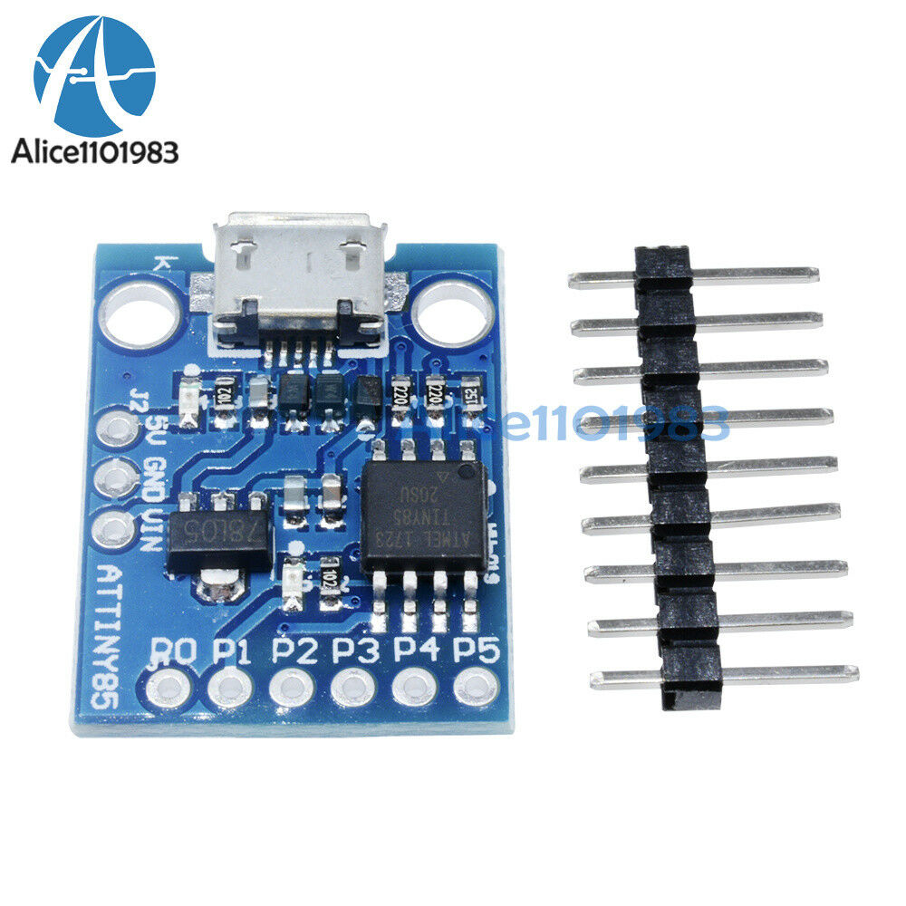 Digispark kickstarter attiny usb development board for