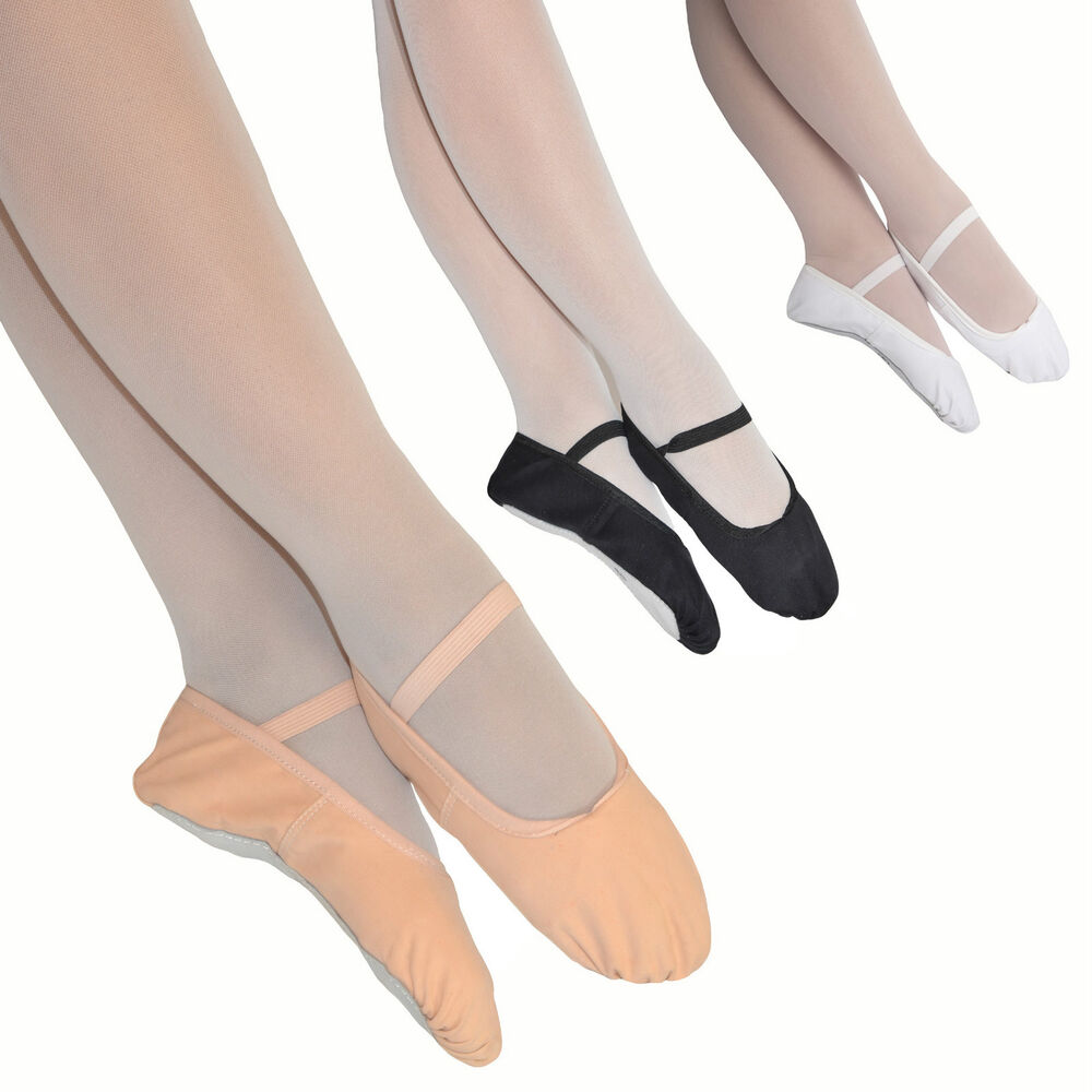 Boys's dance shoes for ballet by Sansha and Wearmoi. White, Black, Flesh or Nude and Grey ballet flats in canvas and leather. Split sole ballet shoes and full sole ballet shoes.
