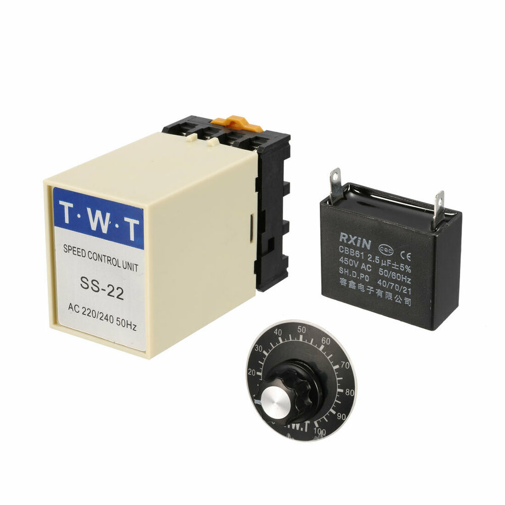 Ac 220v 240v motor speed controller 20k ohm for 240v motor speed controller