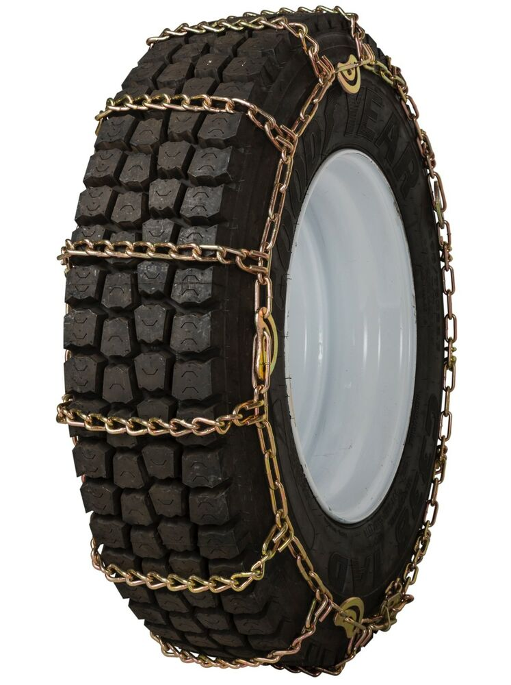 quality chain 2251lmc cam 8mm link tire chains snow traction commercial truck ebay. Black Bedroom Furniture Sets. Home Design Ideas