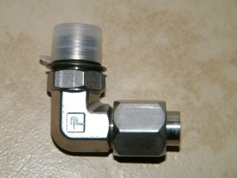 Parker s elbow degree tube fitting thread