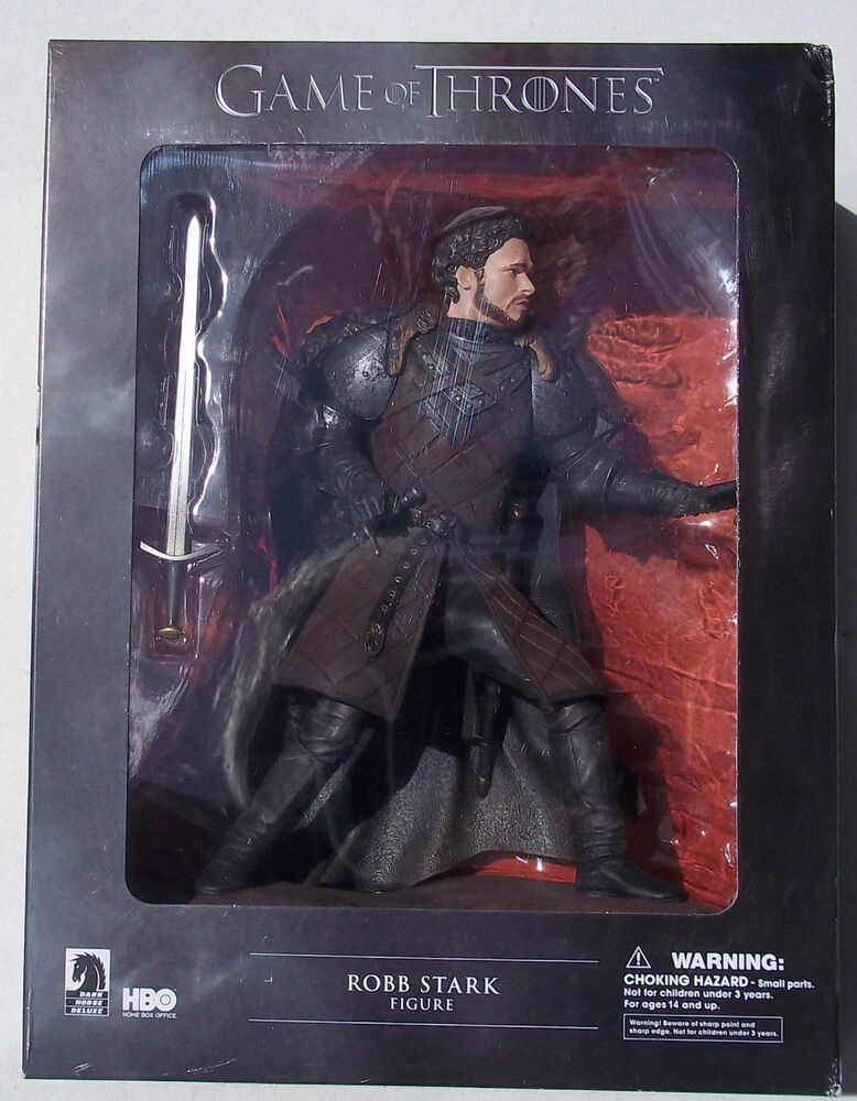 game of thrones robb stark figure new in box dark horse comics hbo ebay. Black Bedroom Furniture Sets. Home Design Ideas