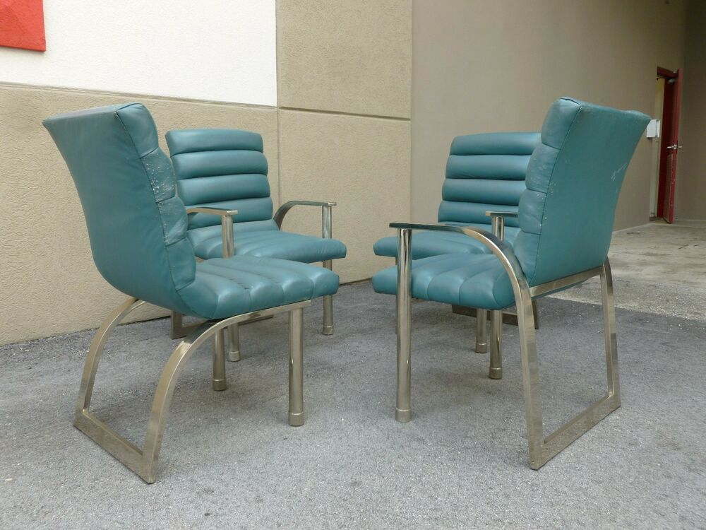4 1970 39 s fashionably stylish jay spectre dining room for 4 dining room chairs ebay