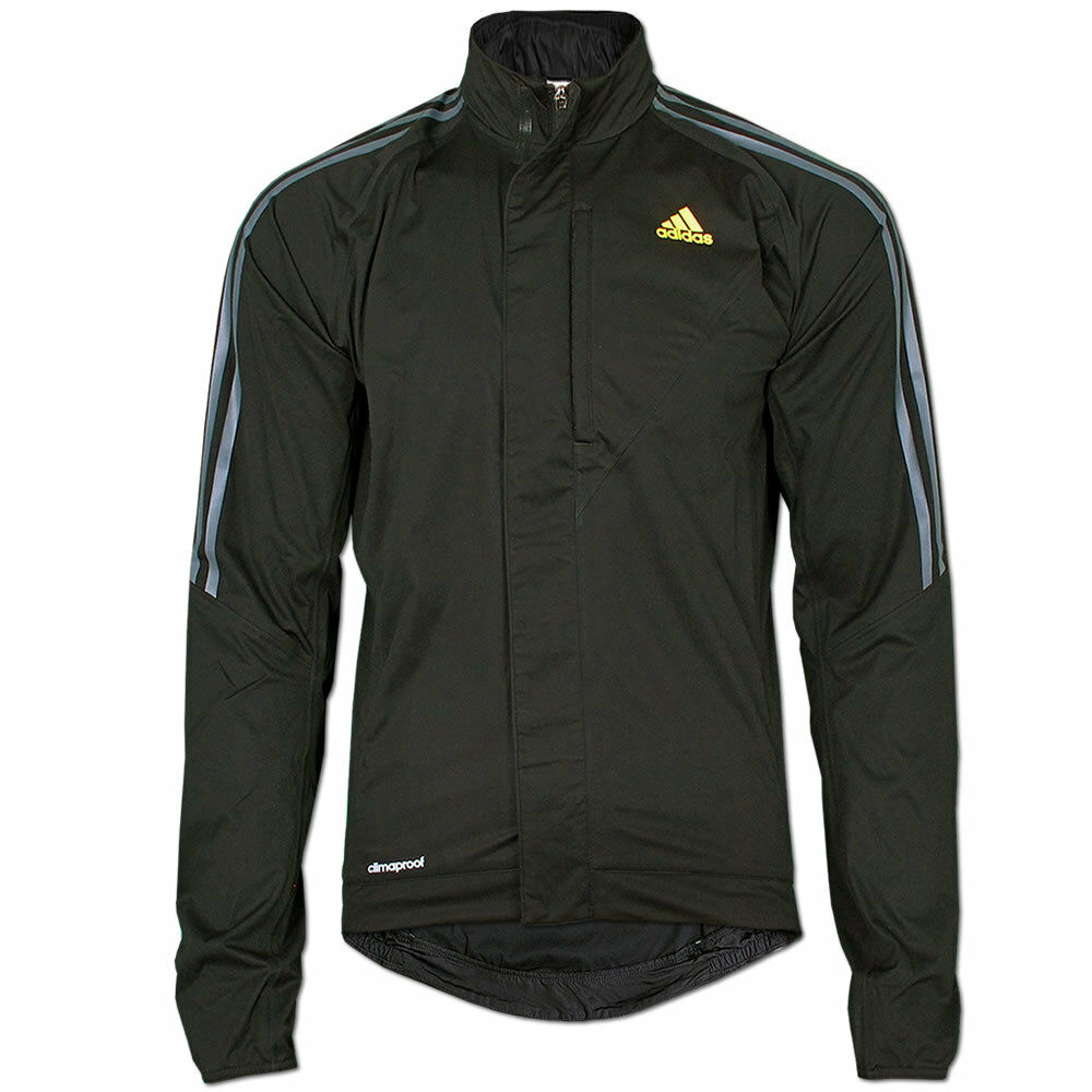 adidas tour rain jacket regenjacke fahrradjacke cycling climaproof jacke schwarz ebay. Black Bedroom Furniture Sets. Home Design Ideas