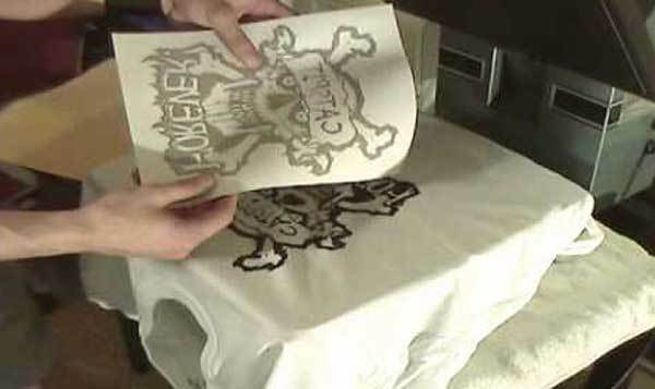 Iron on t tee shirt light transfer paper a4 sheets for for Iron on shirt paper