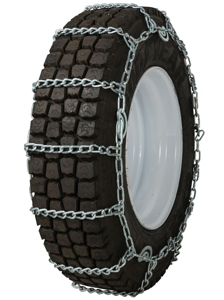 295 75 22 5 295 75r22 5 tire chains 7mm link cam snow traction commercial truck ebay. Black Bedroom Furniture Sets. Home Design Ideas