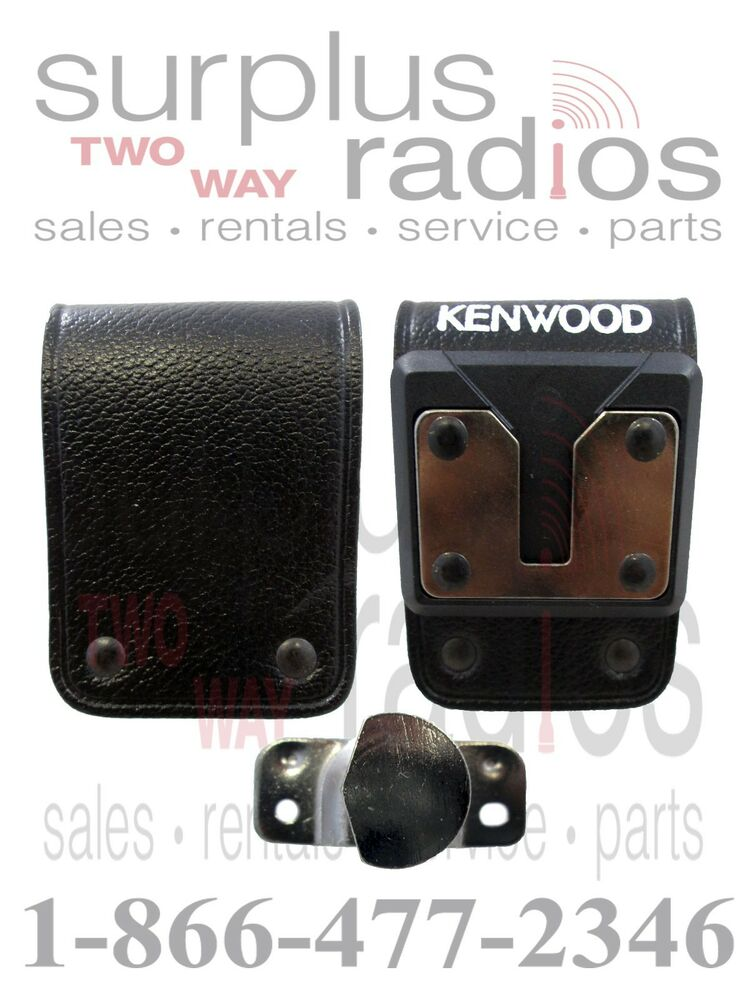7150 Loopes Fit Over Sunglass Wear Over Shades: Kenwood OEM KBH-8DS Swivel Leather Belt Loop NX411 NX410