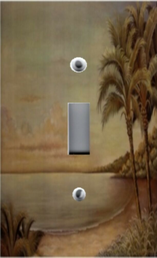 Light Switch Plate Outlet Covers Beach Decor Sunset With