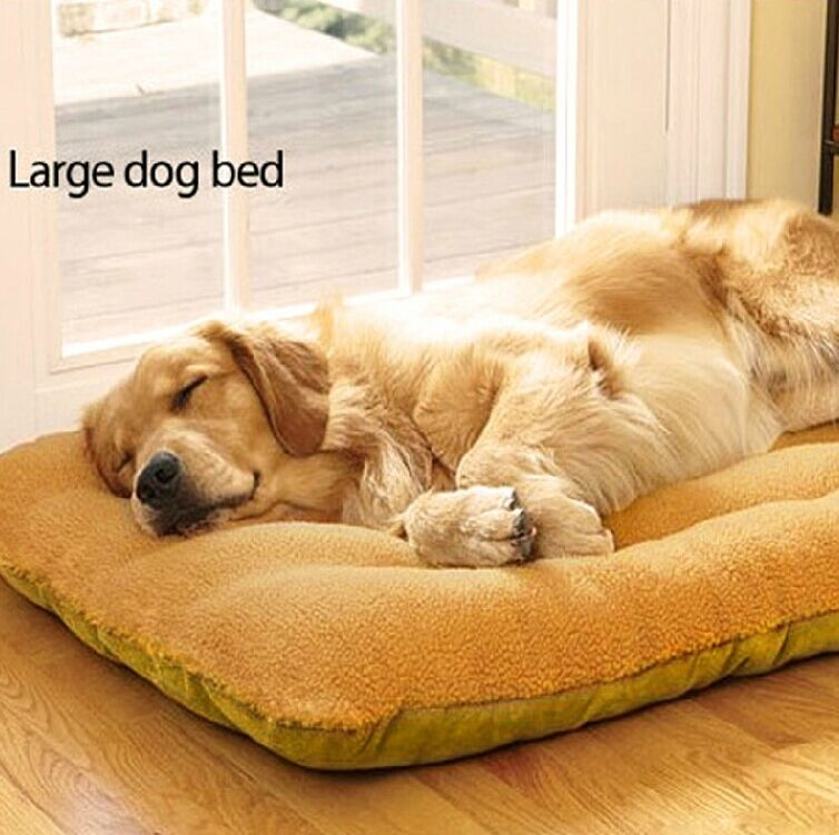 Yellow Extra Large Pets Nesting Bed Dog Bed Warm Soft