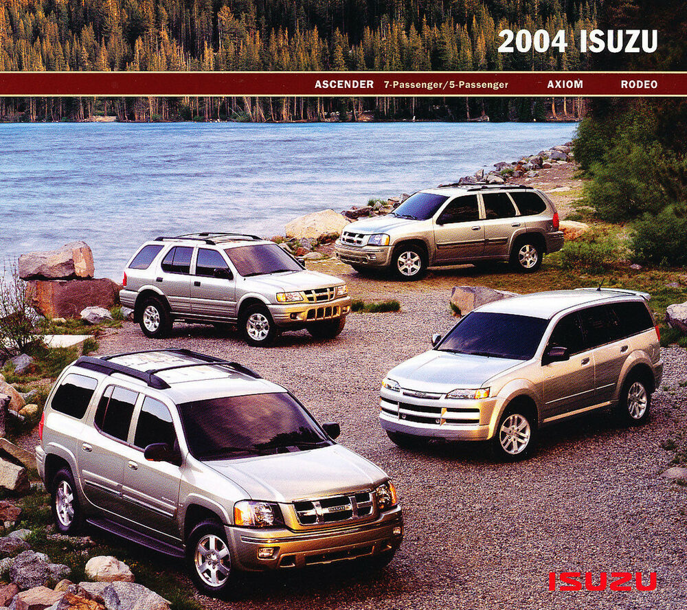 2004 isuzu ascender axiom rodeo original car sales. Black Bedroom Furniture Sets. Home Design Ideas
