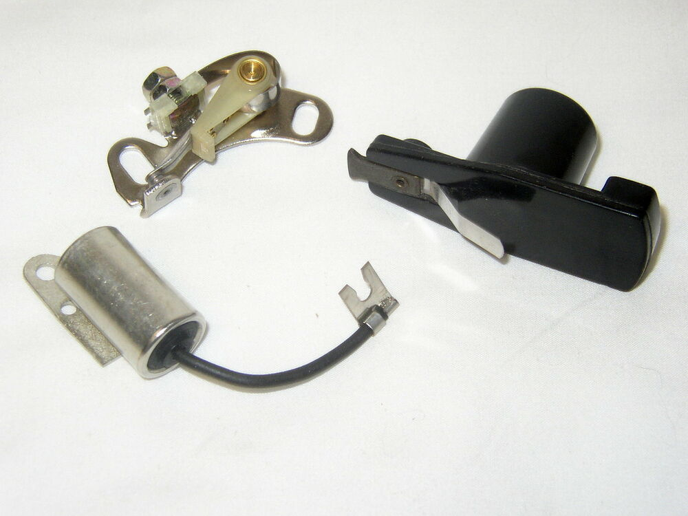 Ford v 8 small block fe amp y block points condenser rotor 57 73 12171