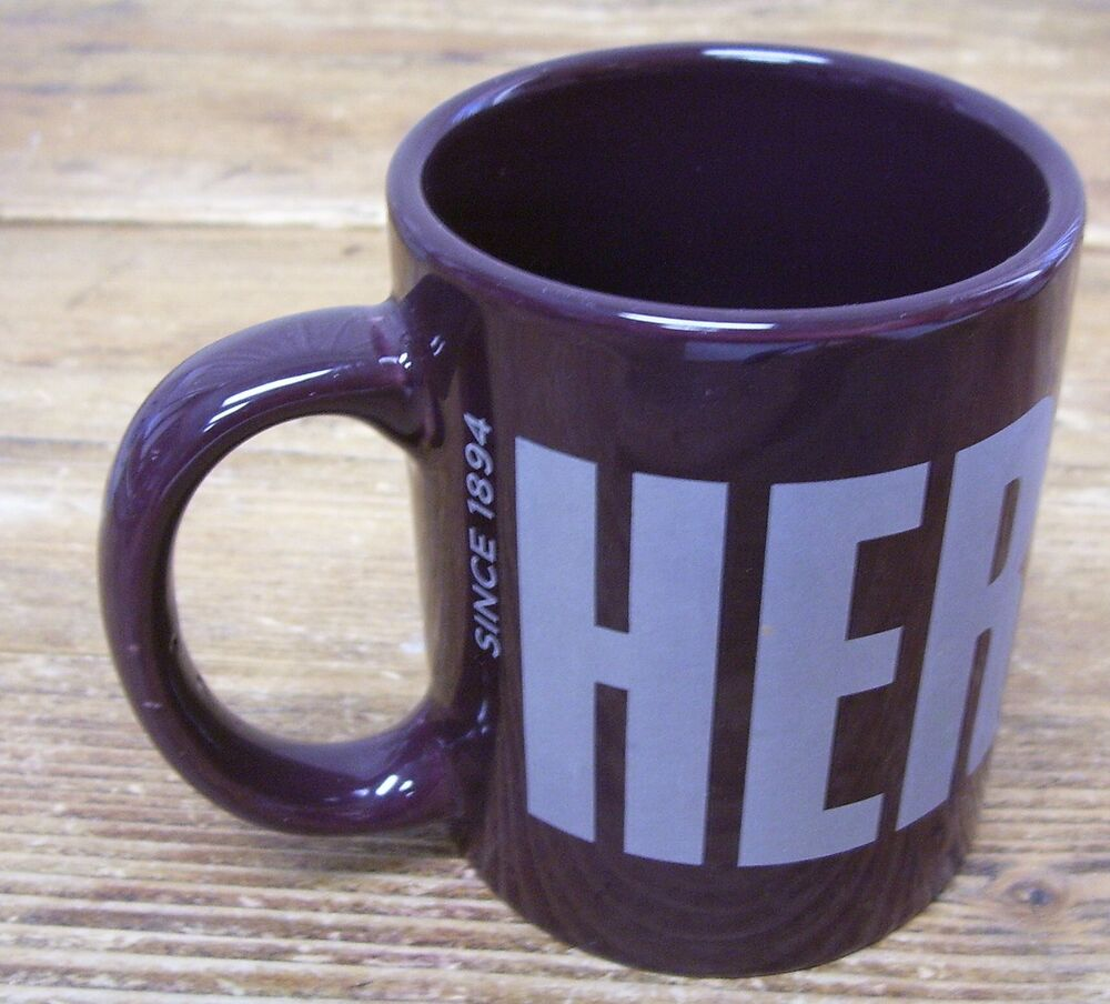Hershey S Chocolate Logo Brown Wrapper Coffee Mug Cup