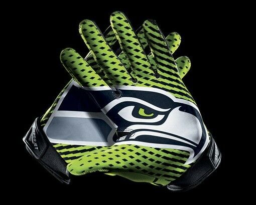 Nfl Seattle Seahawks Gloves 16 Quot X 24 Quot Framed Canvas Print