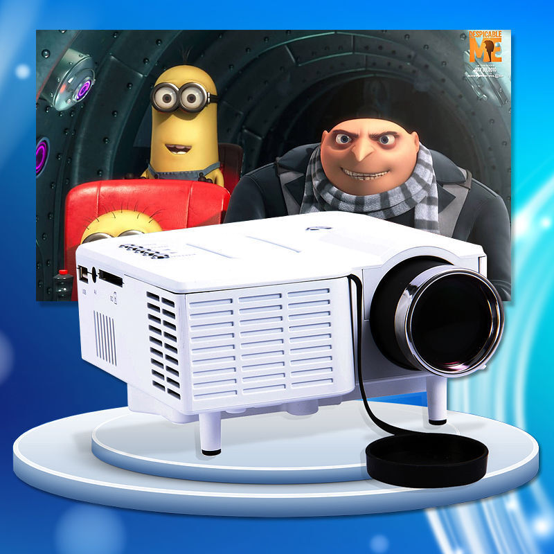 Hd Home Theater Multimedia Lcd: Home Theater Multimedia LED LCD Projector HD 1080P HDMI PC