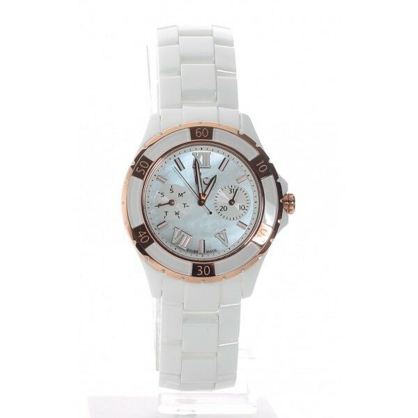 NEW GUESS COLLECTION GC LADY WATCH ROSE GOLD XL-S GLAM ...