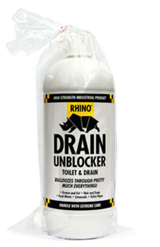 Kilrock Rhino Drain Unblocker 1 Litre - Bulldozes Through ...