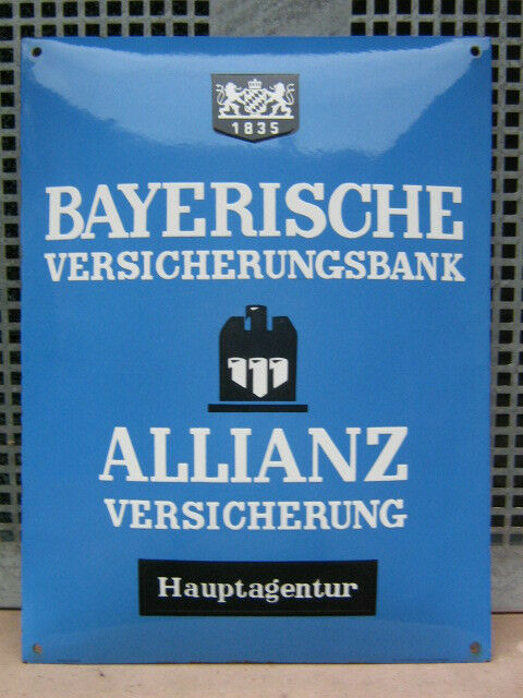 bayerische versicherungsbank allianz versicherung ebay. Black Bedroom Furniture Sets. Home Design Ideas