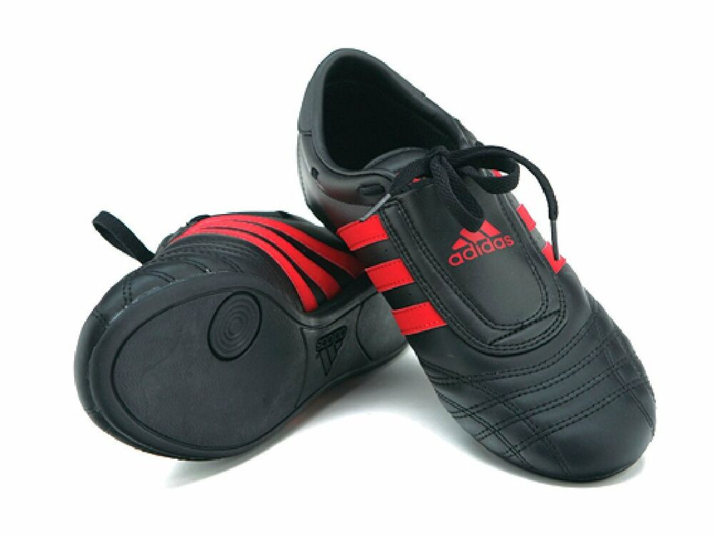 Adidas Martial Arts Shoes Black And Red