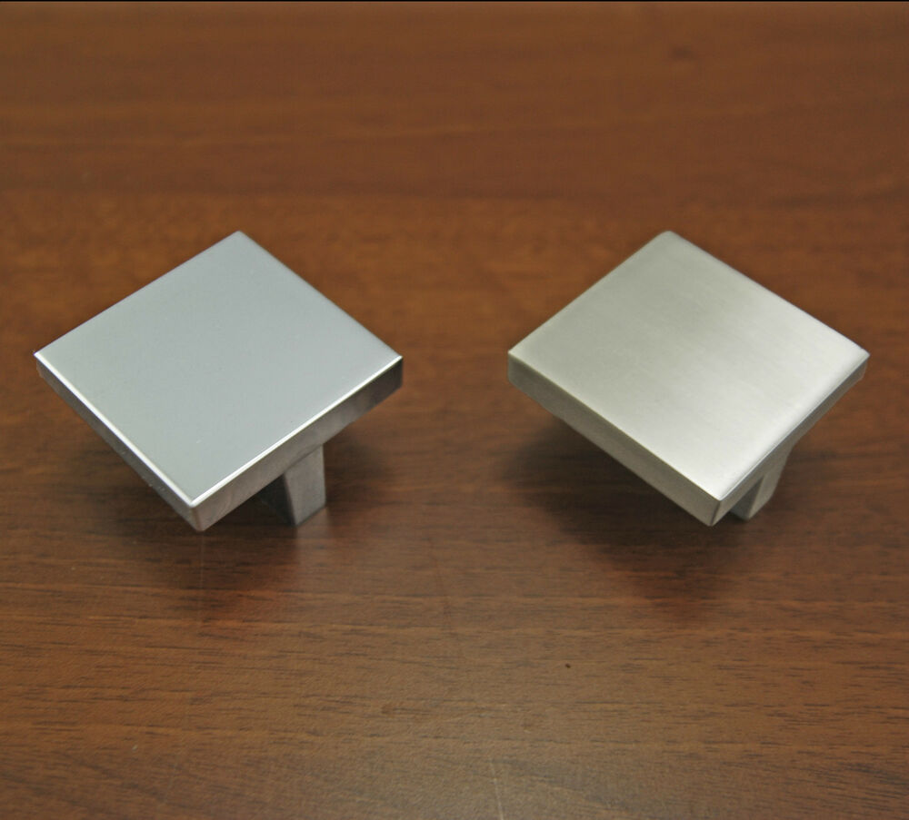 Kitchen Cabinet Knobs And Pulls Brushed Stainless Steel
