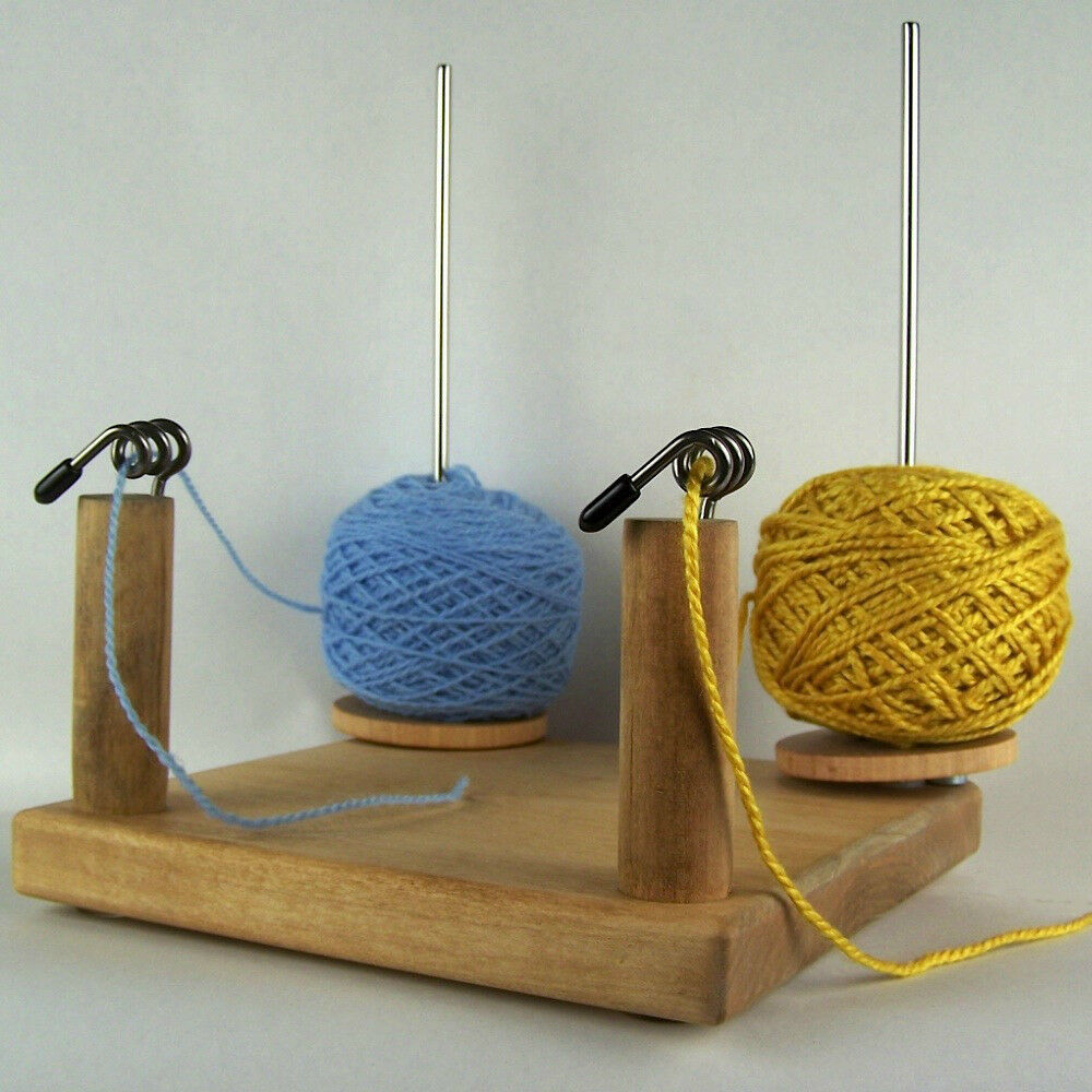 Knitting Yarn Holder : Yarn pet duo tool notion ball holder for knit crochet