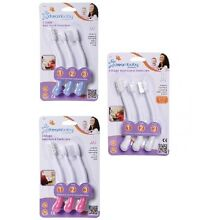 Dream Baby Infant Toddler Gum and Tooth Cleaning Massaging 3 Toothbrush Set
