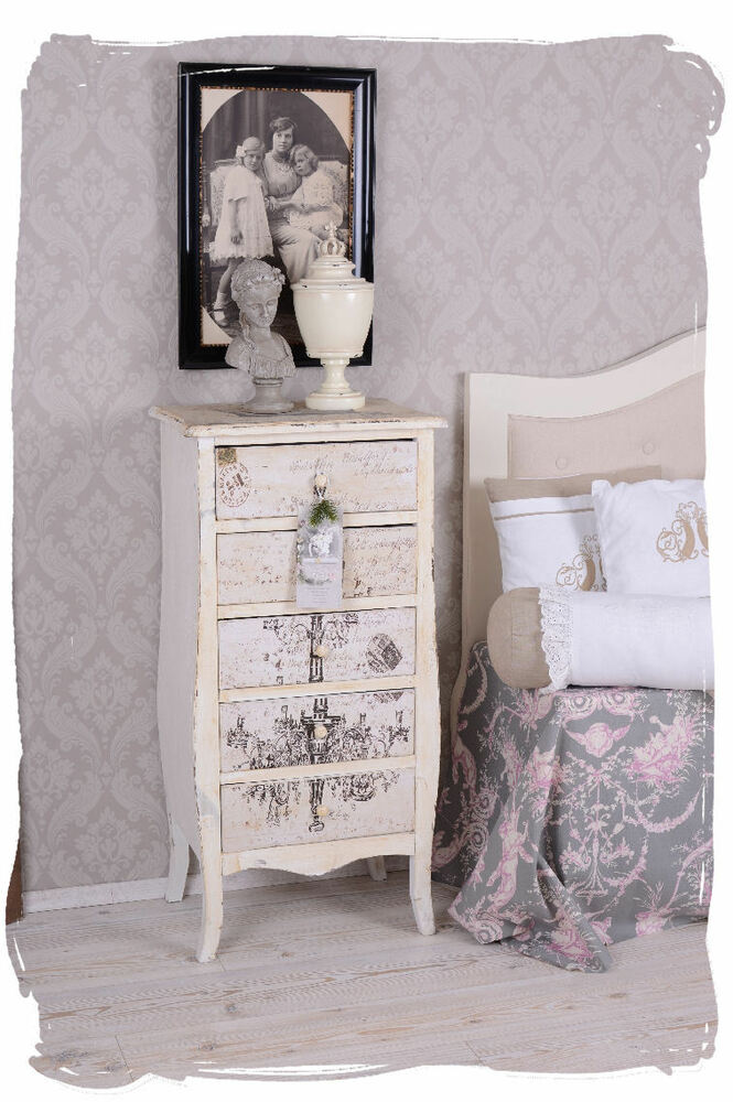 vintage kommode shabby chic kommodenschrank. Black Bedroom Furniture Sets. Home Design Ideas