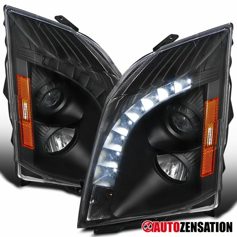 2008-2014 Cadillac CTS Replacement Black SMD LED Projector