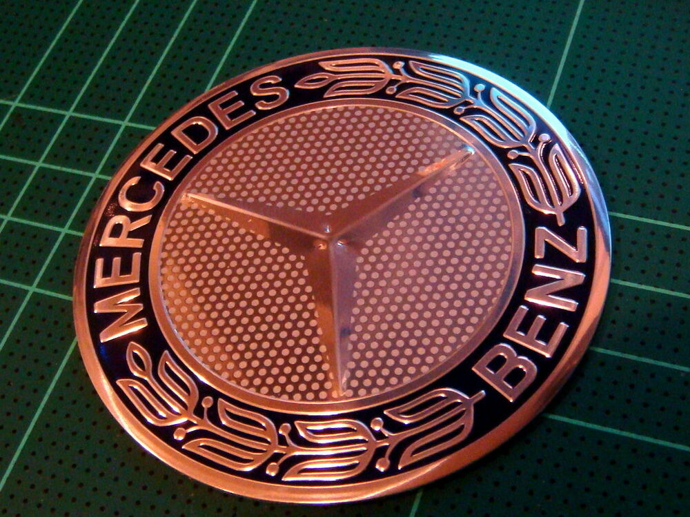 Mercedes benz wheel center hub cap aluminium badge emblem for Mercedes benz badges for sale