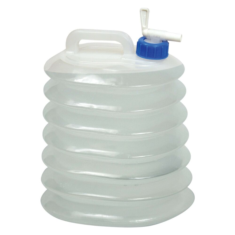 Expandable Acordian Collapsible Camp Jug Water Transport