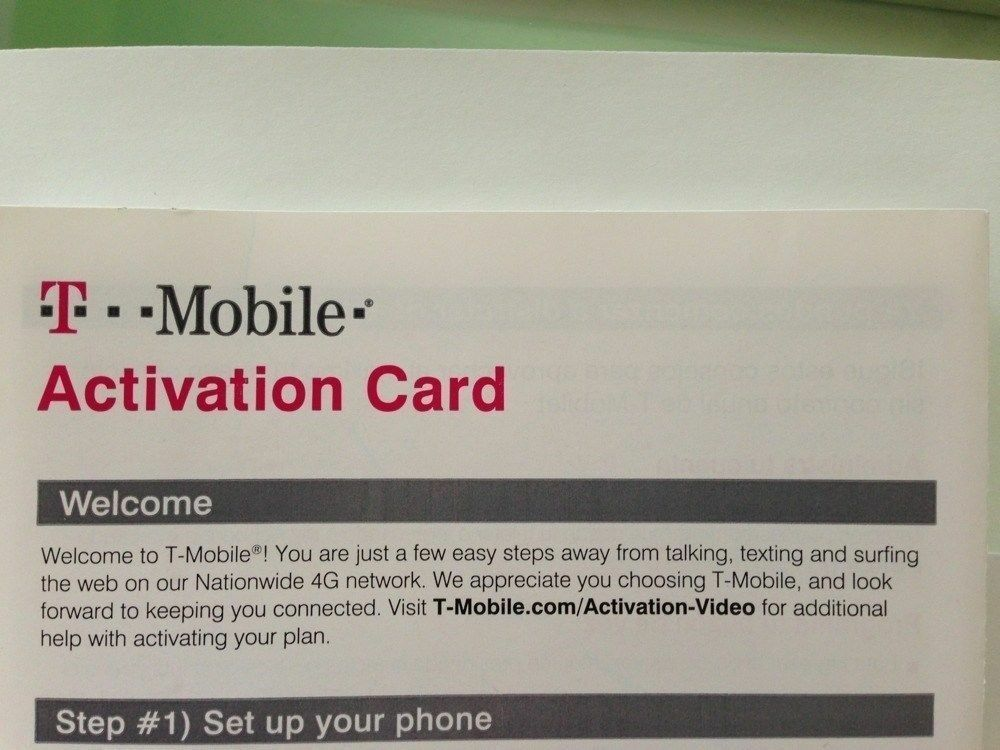 T mobile promotion code free activation