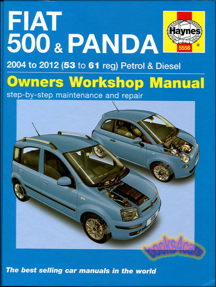 fiat 500 shop manual service repair book haynes chilton ebay. Black Bedroom Furniture Sets. Home Design Ideas
