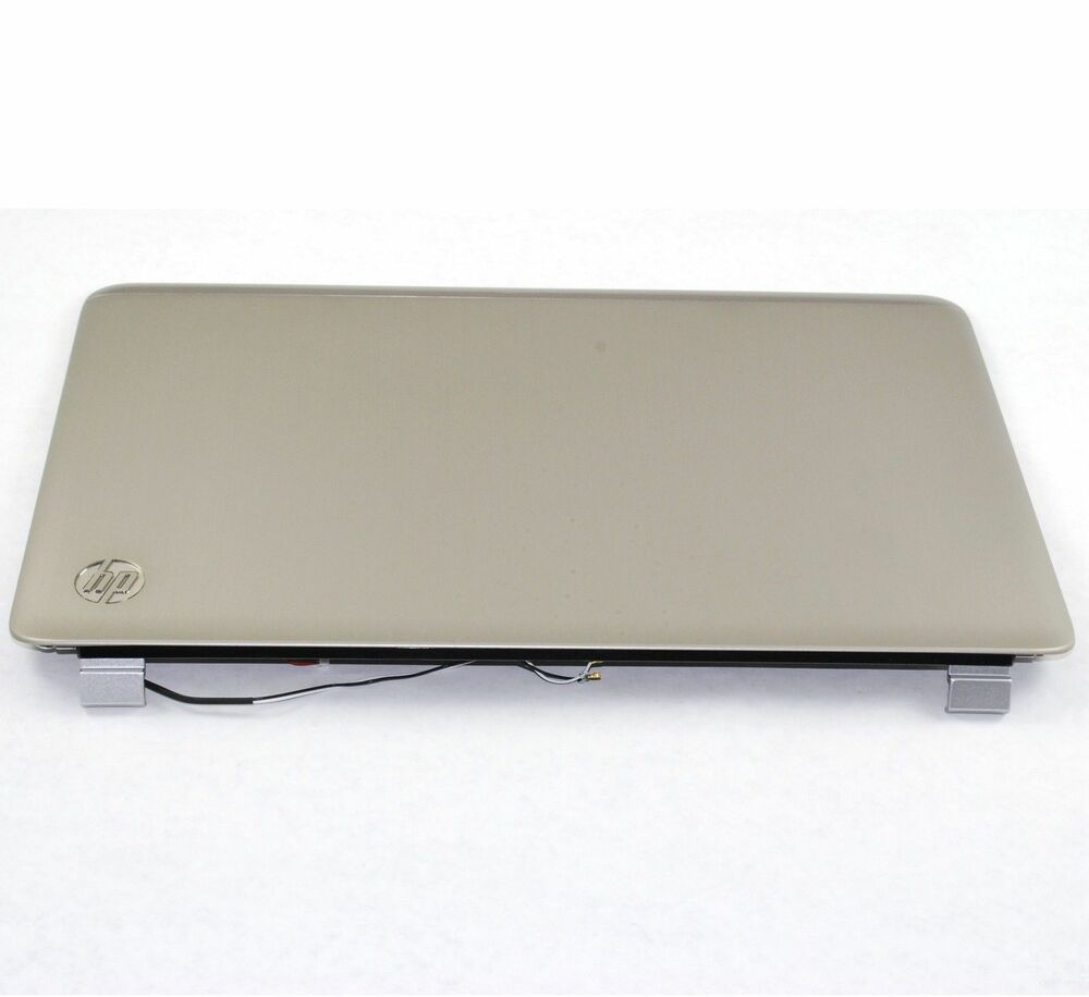 hp pavilion dv7 dv7 6000 lcd back cover 17 3 silver 649946 001 ebay. Black Bedroom Furniture Sets. Home Design Ideas