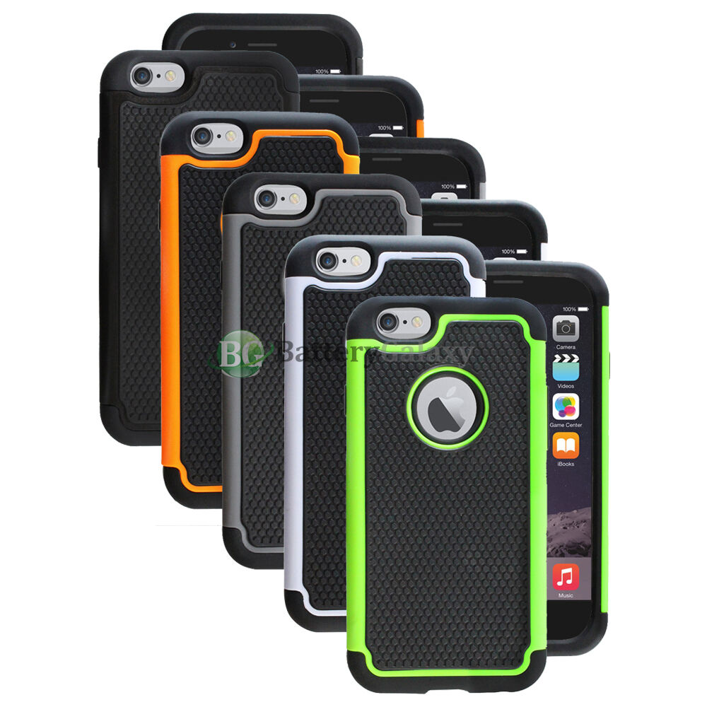 iphone 5 rubber cases lot of 5 black orange white hybrid rubber for 14571