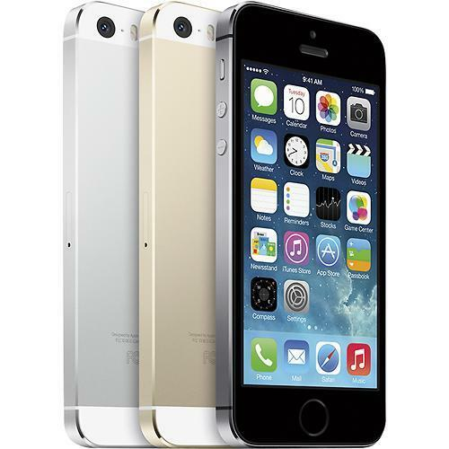 Apple iPhone 5s - 16GB (Factory Unlocked) Smartphone - Gold - Silver ...