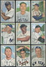 1952 Bowman Baseball Complete SET Mantle Mays Musial GD