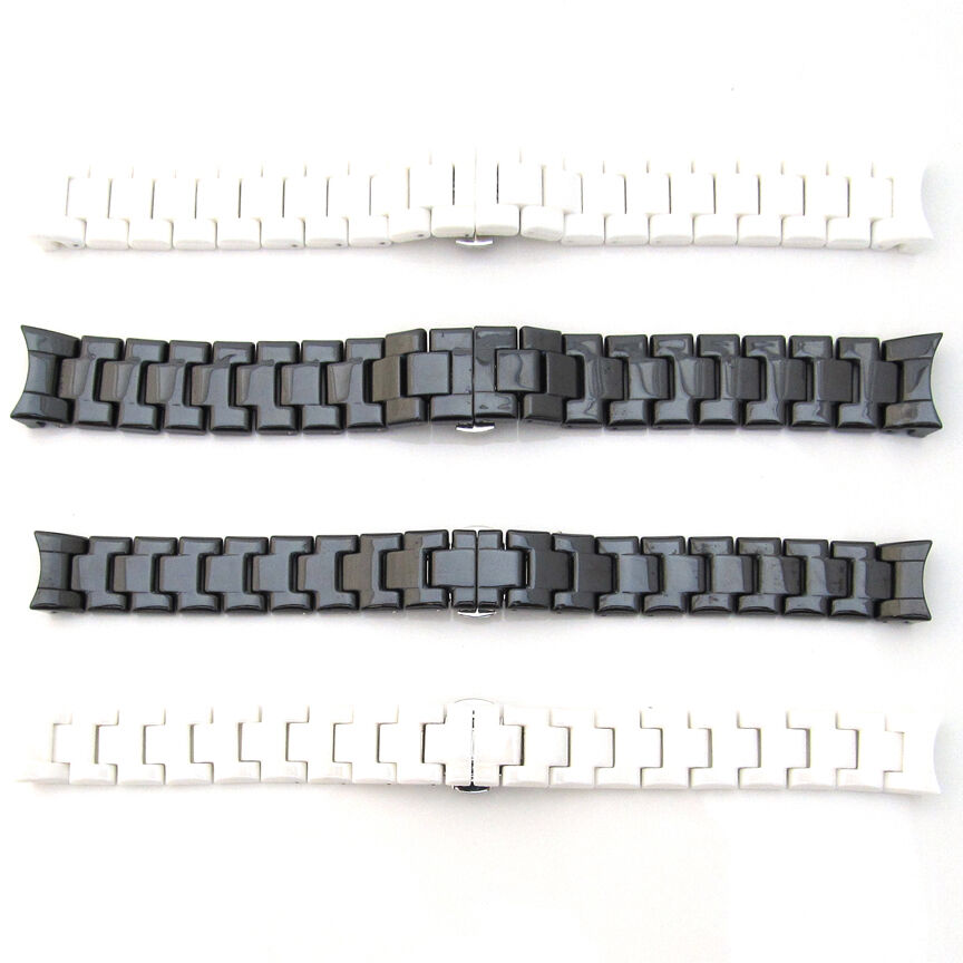 how to clean white ceramic watch band