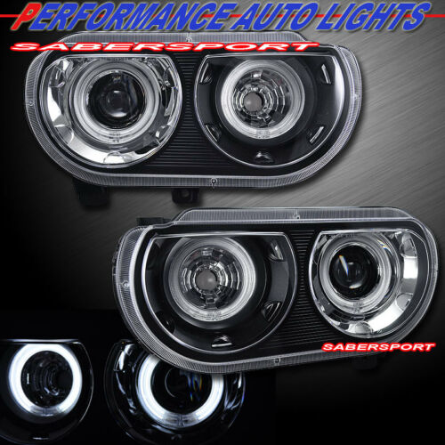 pair-ccfl-halo-black-projector-headlights-for-0814-challenger-w-hid-headlights