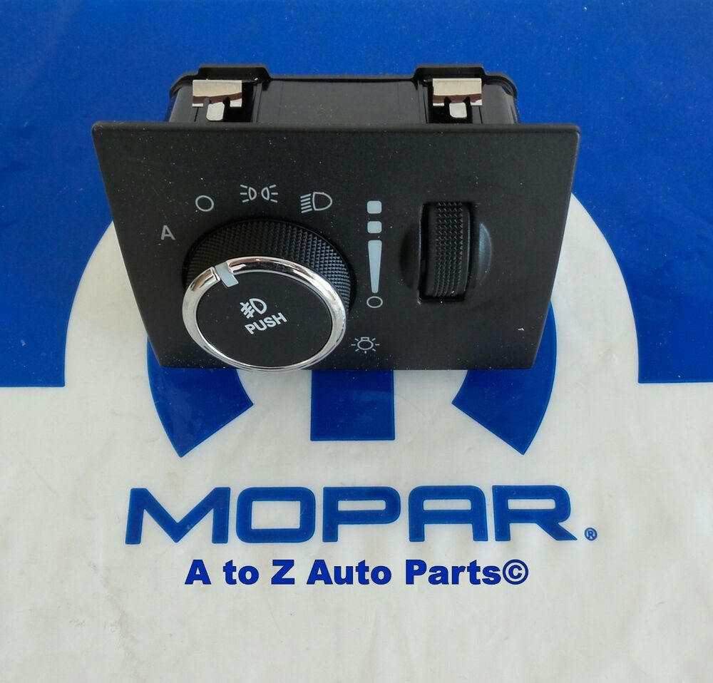 Purchase Mopar 56021898ab Headlamp Switch Chrysler Dodge: NEW 2011-2013 Dodge Challenger / Jeep Grand Cherokee