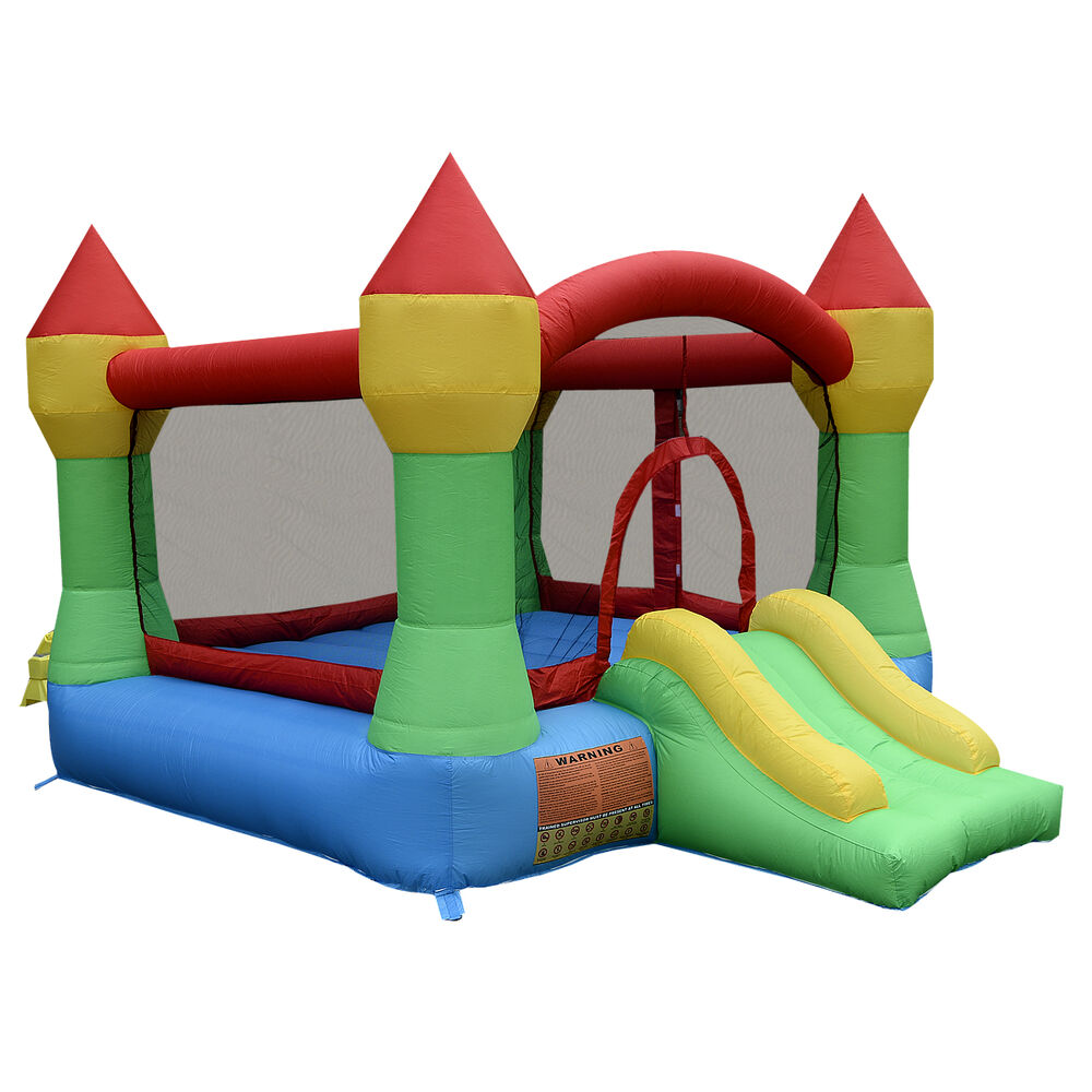 Inflatable Mighty Bounce House Castle Jumper Moonwalk ...