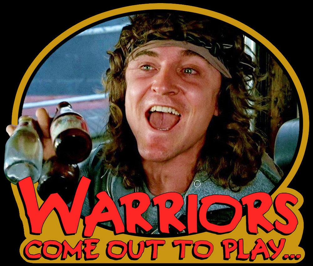 "70's Cult Classic The Warriors Luther ""Come Out To Play"