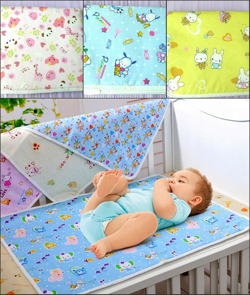Baby Waterproof Sheet Protector Mattress Kids Toddler Bed ...