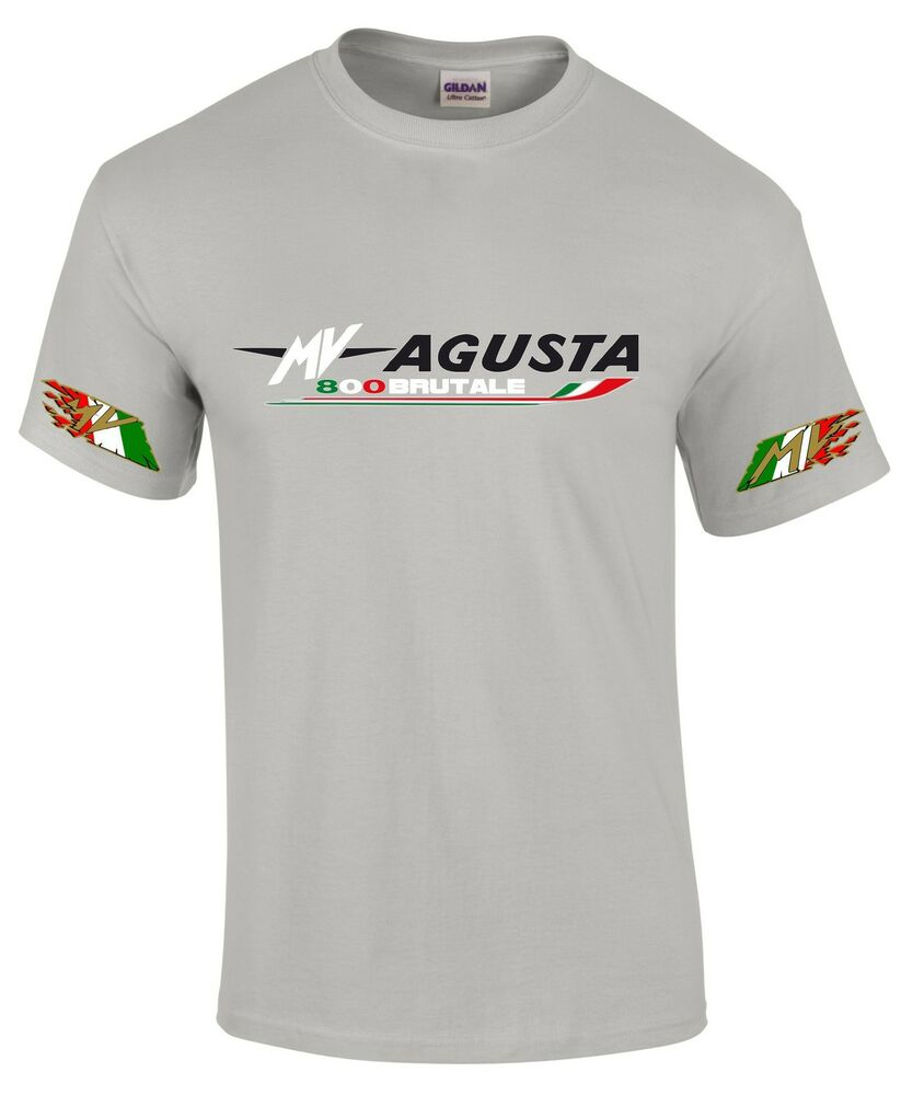 Mv Augusta 800 Brutale Style Motorcycle Printed T Shirt In