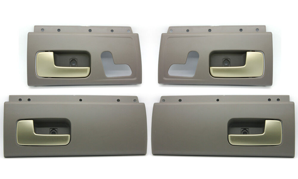 new gray gold inside door handle set for 2003 12 lincoln town car ebay. Black Bedroom Furniture Sets. Home Design Ideas