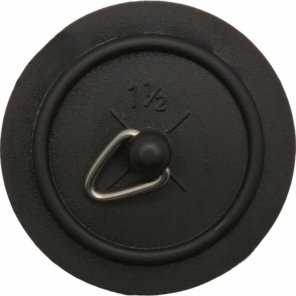 Replacement Black Rubber Sink Plug 38mm Basin Bathroom Kitchen Stopper 1 1 2 Ebay
