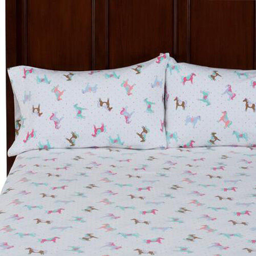 Full Size Kid Bedding Sets BRAND NEW! Mainstays Kids Pony Horse Girl Twin Size ...