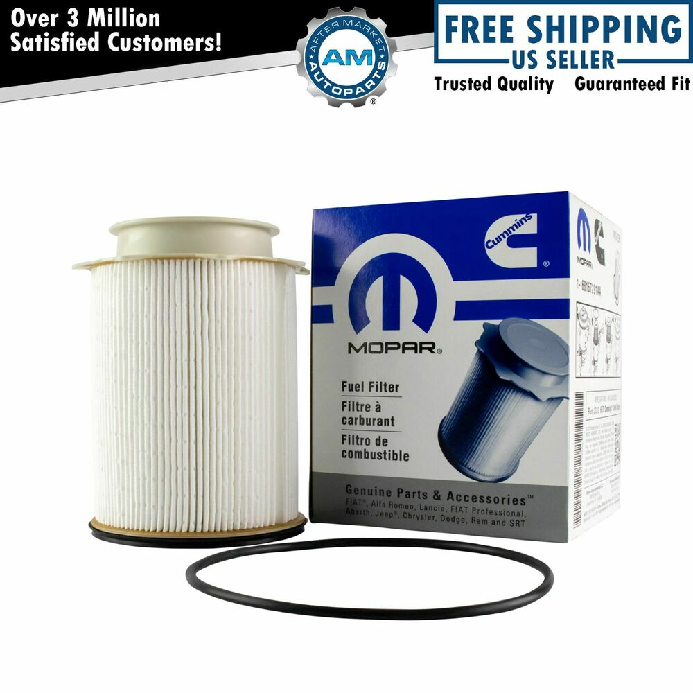 dodge ram 2500 fuel filter replacement mopar oem diesel fuel filter for dodge ram 2500 3500 4500