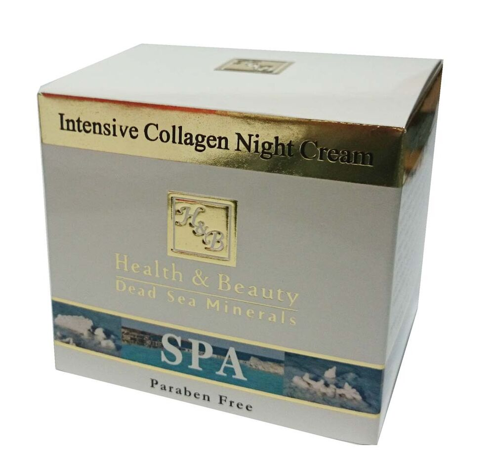 H&B Dead Sea Intensive Collagen Night Cream 50ml | eBay