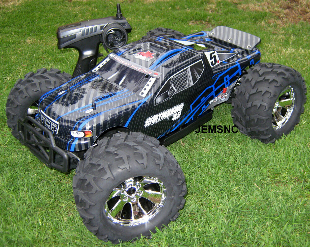 redcat rc earthquake 3 5 1 8 scale r c nitro truck fast. Black Bedroom Furniture Sets. Home Design Ideas