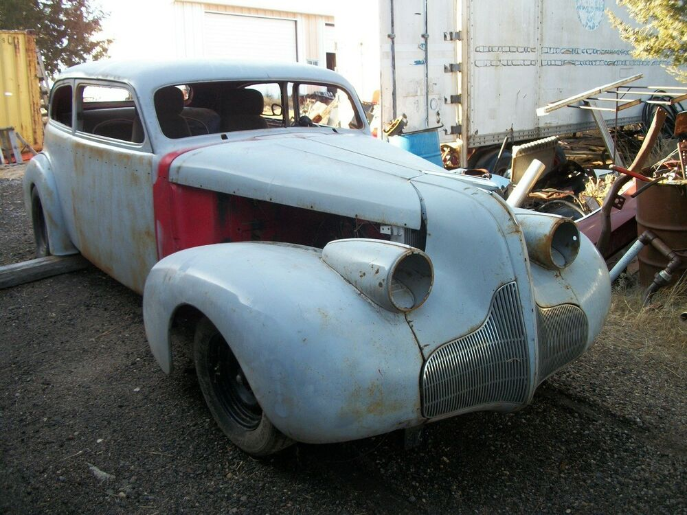 39 Buick custom hot rat street rod project car bagged 35 36 37 38 ...